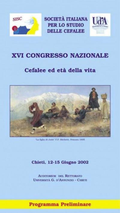XVI Congresso nazionale SISC - Headache and stages in life