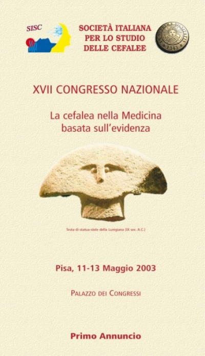 XVII National SISC Congress - Headache and evidence-based medicine