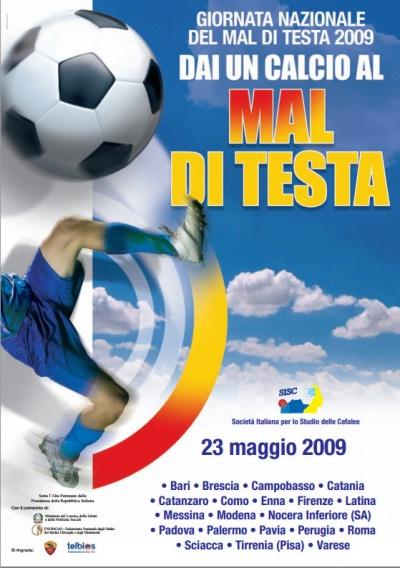I Giornata Nazionale del Mal di Testa 2009