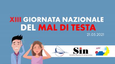 """XIII Giornata Nazionale del Mal di Testa  - """"1 minuto per il tuo mal di testa"""""""