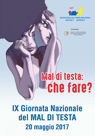 IX Giornata Nazionale del Mal di Testa 2017